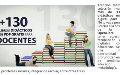 130 libros didácticos en PDF o recursos para docentes en panama y el mundo