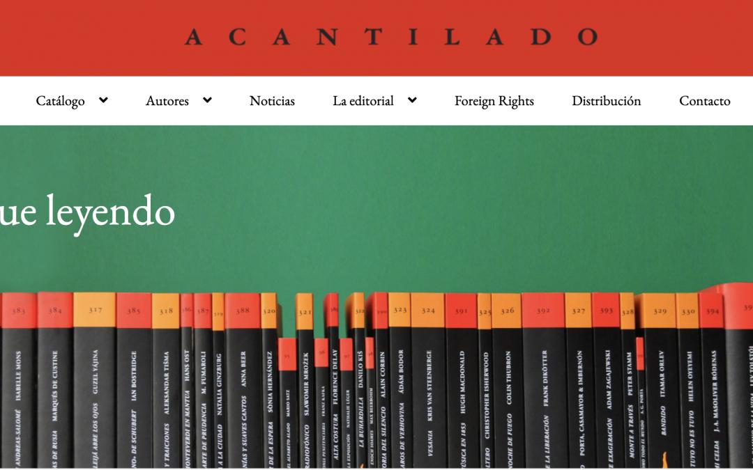 Acantilado Editorial